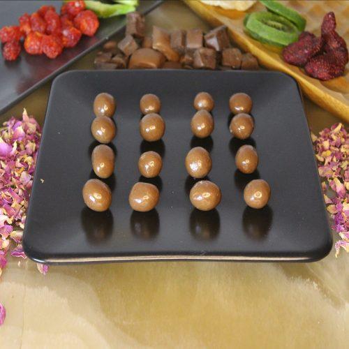 Çikolata kaplı draje lokum