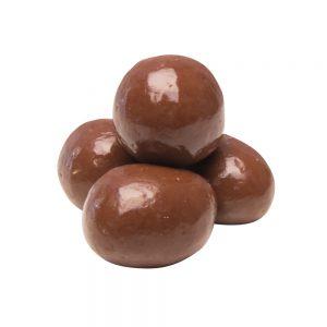 Çikolata kaplı güllü lokum