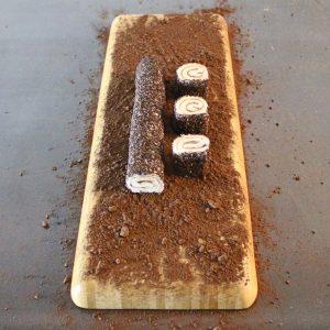 Kakaolu çikolatalı sarma lokum